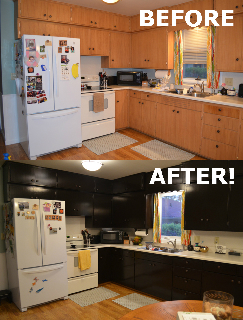 Stain Cabinets Using Java Gel Stain Rixen It Up